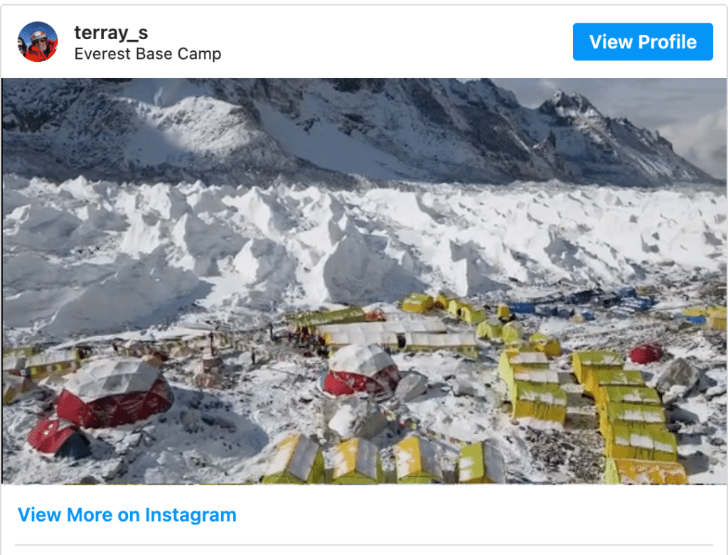 Video_View_of_Base_Camp_-_Mark_Pattison_Speaker__Former_NFL_Player__Mountaineer___Sports_Illustrated_Executive