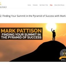 052__Finding_Your_Summit_in_the_Pyramid_of_Success_with_Mark_Pattison