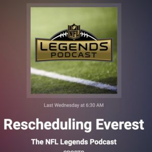 NFL Legends Podcast w Mark Pattison